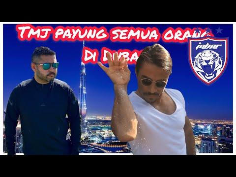 Johor Darul Ta'zim In Dubai | Training DAY 3 | TMJ Payung Timbang Bola & Makan NUSRET SALTBAE