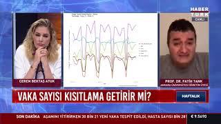 Prof. Dr. Fatih Tank Haber Türk TV de Ceren Bektaşın sunduğu \Haftalık\ programında 27/03/21