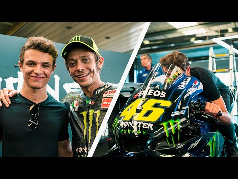MEETING MY HERO VALENTINO ROSSI AT BRITISH MotoGP // LandoLOG 015