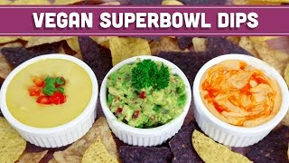 3 Game Day Dips Vegan & 5 Ingredients or Less! - Mind Over Munch