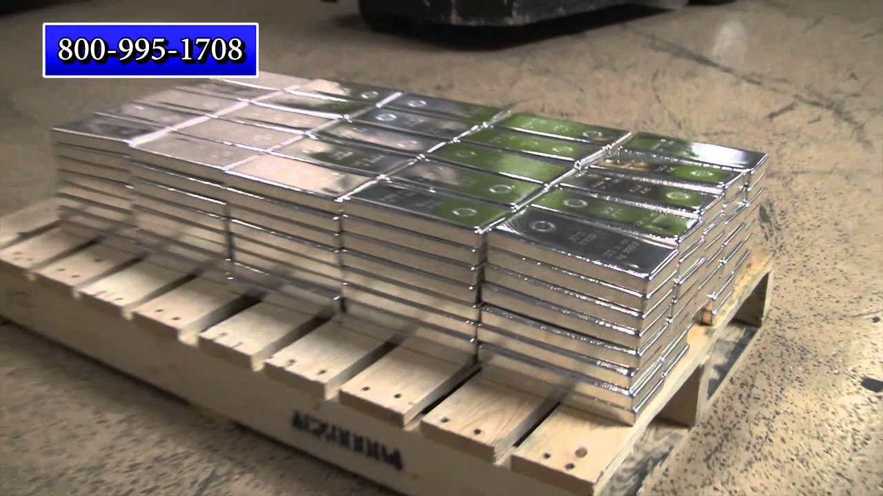 A Ton Of Silver Bullion Coins And Bars Youtube