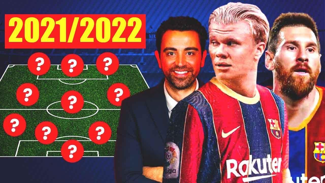 Download BARCELONA 2021/22: NEW BARCELONA - BOMBAZO! HAALAND, MESSI, XAVI and LAPORTA!