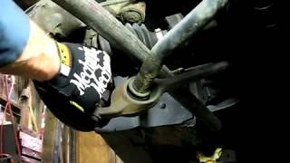 replacing lower control arm ball joint