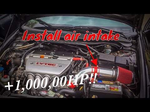 How to install a air Intake