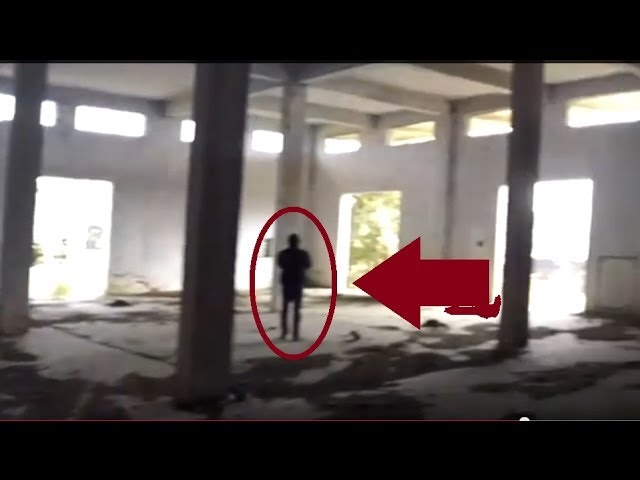 BLACK GHOST ENTITY CAUGHT ON TAPE(Real Ghost Paranormal Activity Caught on Camera) Travel Video