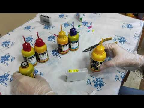 Перезаправляемые картриджи Epson P50 (ПЗК) инструкция по заправке и полезные советы