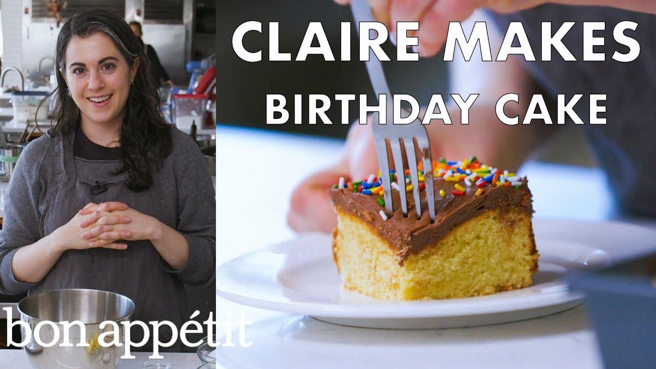 Claire Bakes Birthday Cake