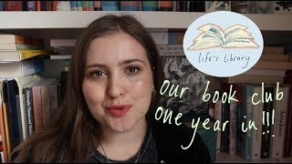 Life's Library book club one year on! ✨? Updates, origins, reflections.