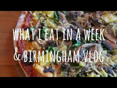 WHAT I EAT IN A WEEK & WORKING AT THE VEGAN SOCIETY || VLOG