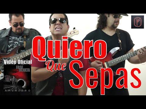 QUIERO QUE SEPAS Video Oficial