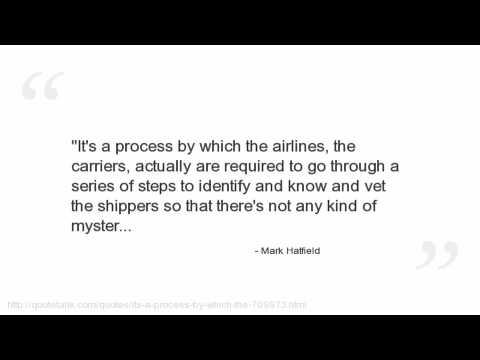 Mark Hatfield Quotes