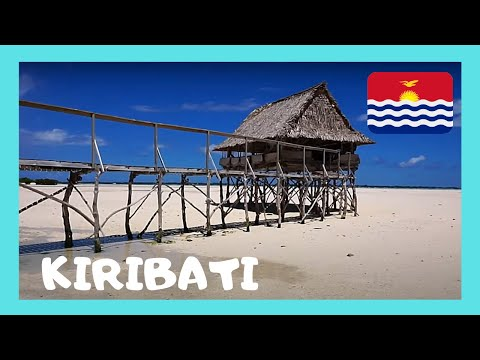 KIRIBATI (CENTRAL PACIFIC): Beautiful views of the LAGOON, THE TARAWA ATOLL at low tide