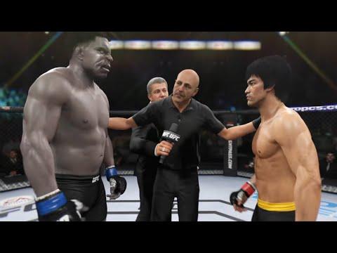 Bruce Lee Vs. Dark Hulk (EA Sports UFC 2)