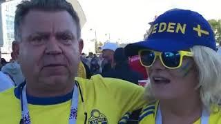 """ Stefan Holm "" efter Sverige - Schweiz 1-0. Fotbolls-VM 2018"