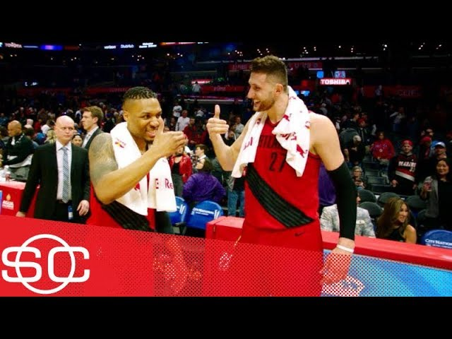 The Blazers are rolling during their 13-game winning streak | SportsCenter | ESPN