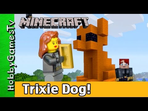 Minecraft Trixie Chihuahua HobbyGamesTV