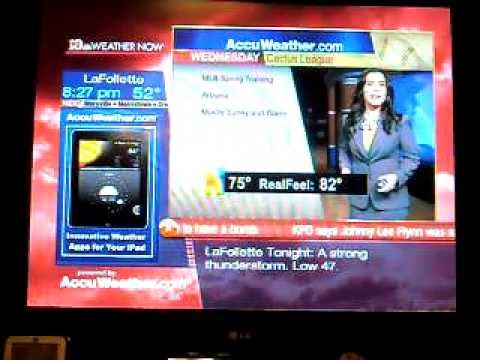 Accuweather.com weather girl blooper - can't pronounce