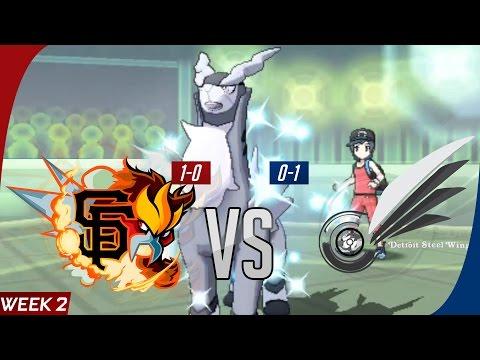 GBA Season 7 Week 2 - San Francisco GiEnteis vs. Detroit Steel Wings