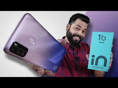 Micromax IN 1b Unboxing And First Impressions ⚡ Best Smartphone Under 8000!?
