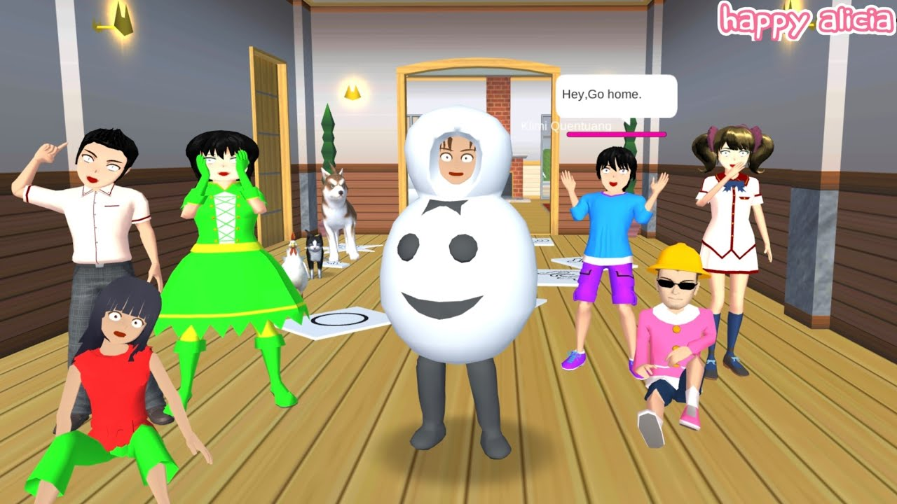 Yuta Mio Bikin Challenge Squid Game Kampungan Takagi Marah Besar🤣😱😭    Sakura School Simulator