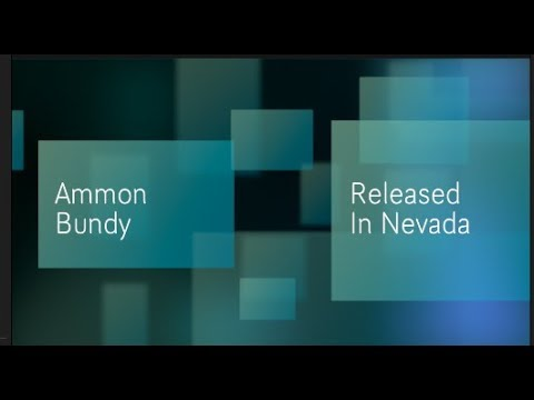 01012017 Oh Happy Day! Ammon Bundy Released From Custody In Nevada