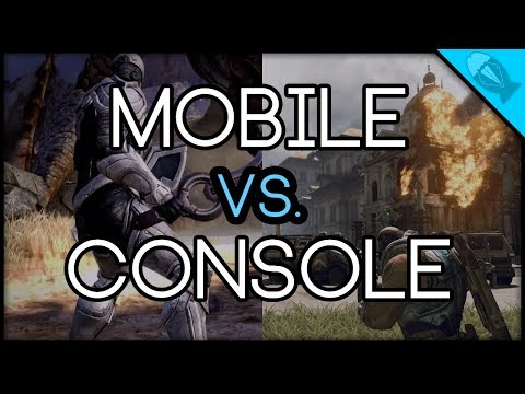 Mobile Vs. Console Graphics And Games (Fish Tuxedo Features)