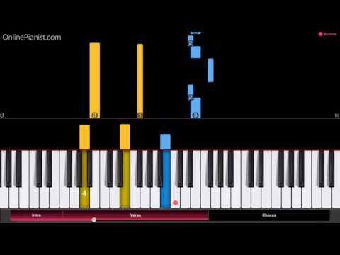 No Game No Life - This Game - Piano Tutorial - Easy Version