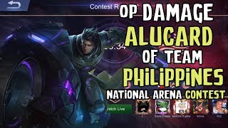 OP DAMAGE of ALUCARD from Team Philippines in National Arena against Team Malaysia