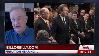 Bill O'Reilly Talks about the Kavanaugh Hearing