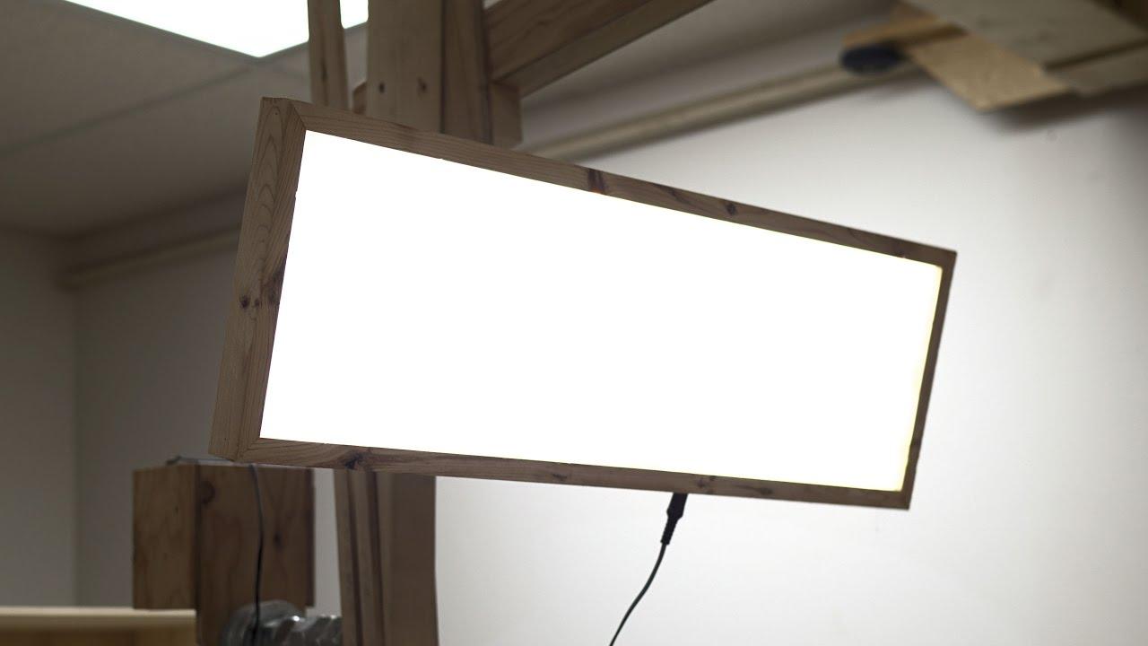 Make This Super Bright Led Light Panel