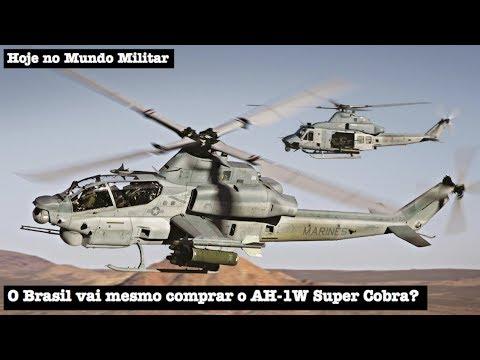 O Brasil vai mesmo comprar o AH-1W Super Cobra?