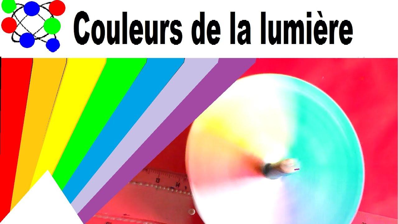 Exp rience scientifique amusante et facile couleurs de - Couleur de la lumiere ...