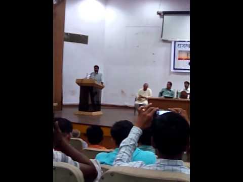 Speech of Trade Union Leader Keshav Vyas