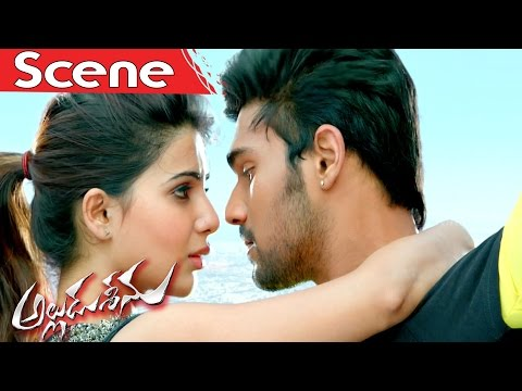 Alludu Seenu Saves Samantha From An...