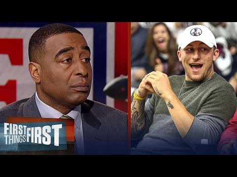Cris Carter reacts to Johnny Manziel positioning himself for an NFL comeback   FIRST THINGS FIRST
