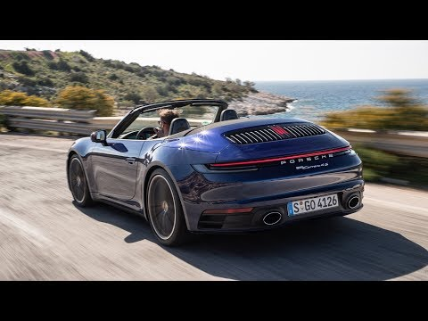 2020 Porsche 911 Carrera 4S Cabriolet - Features, Exterior, Interior, Driving