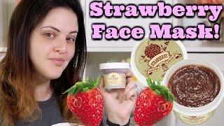 Skinfood Black Sugar Strawberry Mask DEMO and First Impression Review! | What the ***K?