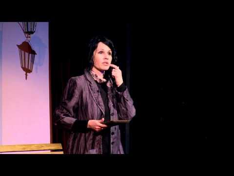 Painting, sheep, inspiration or the art of communicating with one self | Iva Sasheva | TEDxAUBG