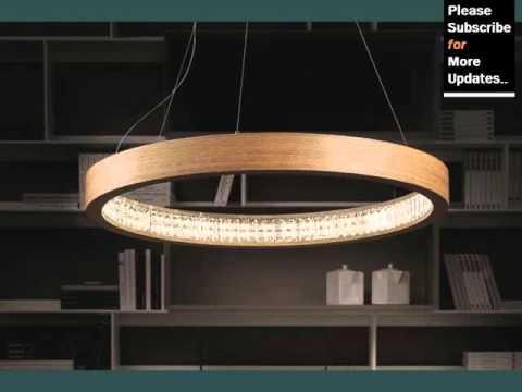 Modern Round Pendant Light - YouTube