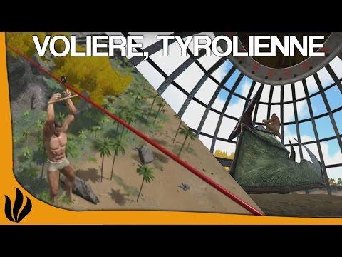 ARK: Survival Evolved FR - MOD: Volière, Tyrolienne & Pet Manager