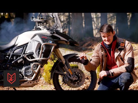 How To Start A Fire Using Your Motorcycle (and Other Survival Tricks)