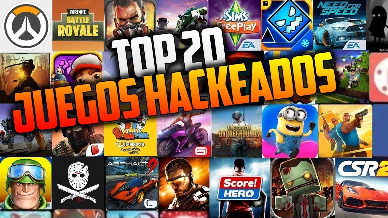 Top 20 Mejores Juegos Hackeados Para Android 2018 No Root Apk Mod