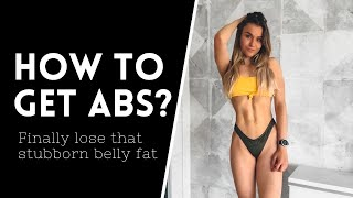 How TO LOSE belly fat, decrease your body fat % &amp get a sixpack
