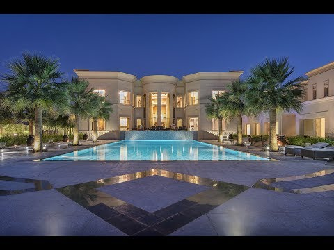 Majestic Golf Course Mansion, Dubai, Emirates Hills, UAE | Gulf Sotheby's International Realty