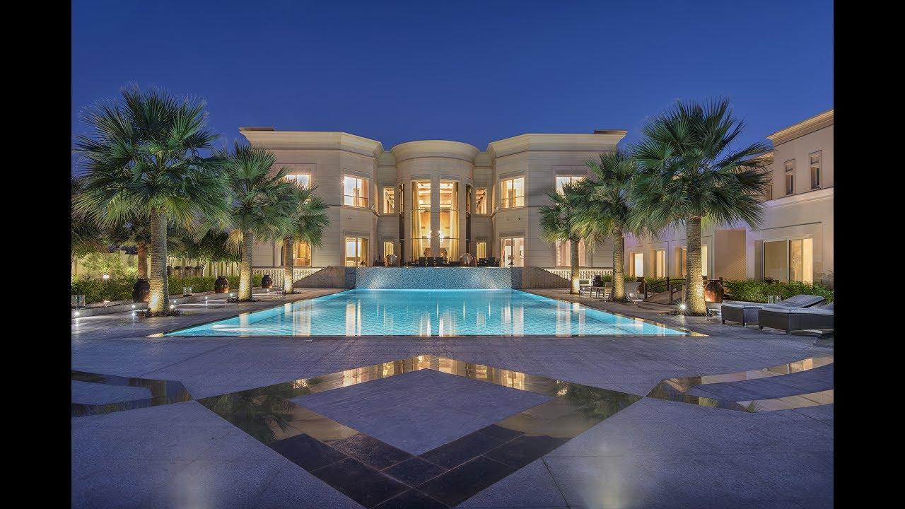 Majestic Golf Course Mansion Dubai Emirates Hills Uae
