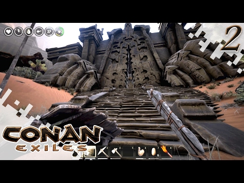 CONAN EXILES - Exploring! - EP02 (Gameplay)