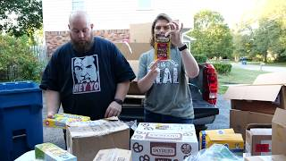 Massive Pallet Unboxing - Nearly 700 Pounds Of Food For Pennies. Part 2