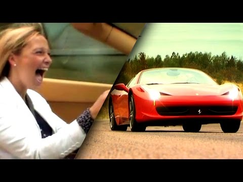 """Just Pure Petrolhead Heaven"" Trying The Ferrari 458 Spider - Fifth Gear"