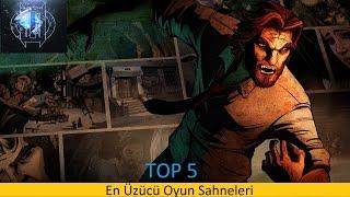 TOP 5 - En Üzücü Oyun Sahneleri - qRAY ™