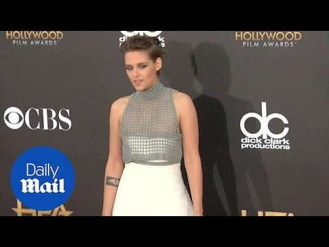 Is that a smile? Kristen Stewart hits the red carpet (archive) - Daily Mail